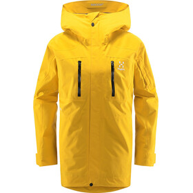 Haglöfs Elation GTX Jacket Women pumpkin yellow